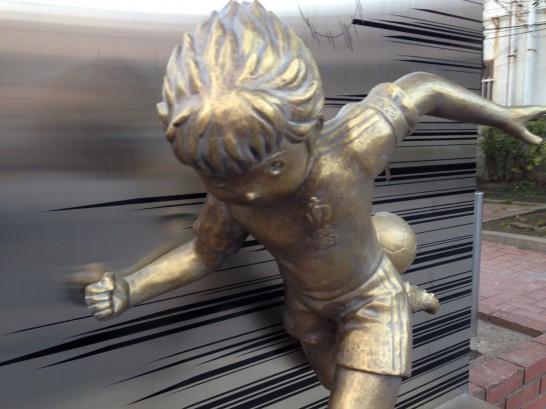 翼くんの銅像